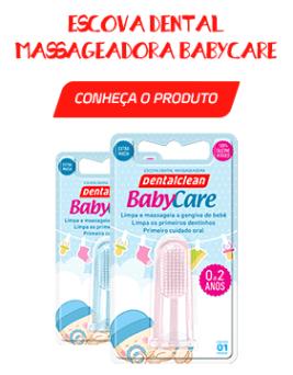 Escova Dental BabyCare - Higiene bucal do bebê durante o aleitamento materno