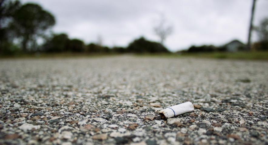Qual a sua desculpa por não parar de fumar?