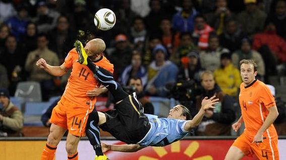 Lance da semi final da copa do mundo de 2010