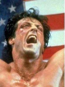 """Sylvester Stallone as """"Rocky"""""""