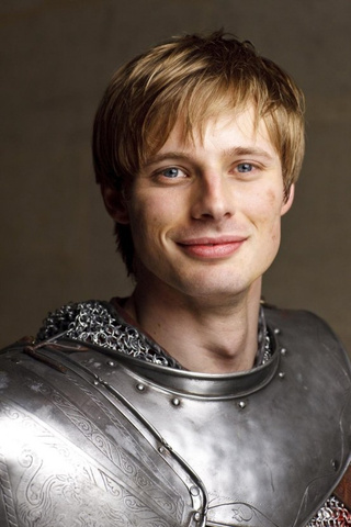 Bradley James, most famous for portraying a pseudo-historical figure who was gay for Merlin