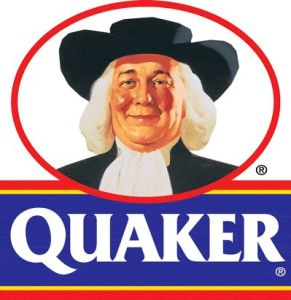 Legendary breakfast cereal icon, the Quaker Oats guy