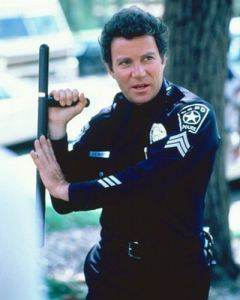 80s nerd heart throb William Shatner in his T.J. Hooker days