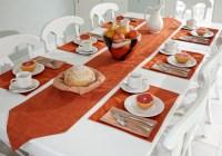 Breakfast Table Setting for Pinterest