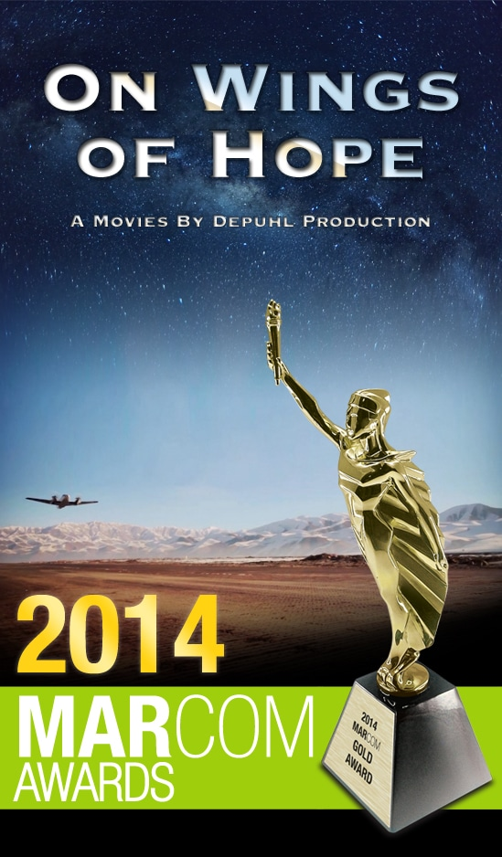On Wings of Hope wins coveted 2014 Gold Marcom Award