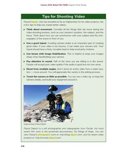 Pascal Depuhl published in Canon EOS 5Ti - Digital Field Guide by Rosh Sillars
