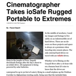Cinematographer takes ioSafe drives to extremes