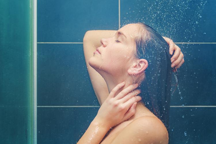Como é bom tomar um banho bem gostoso, não é?