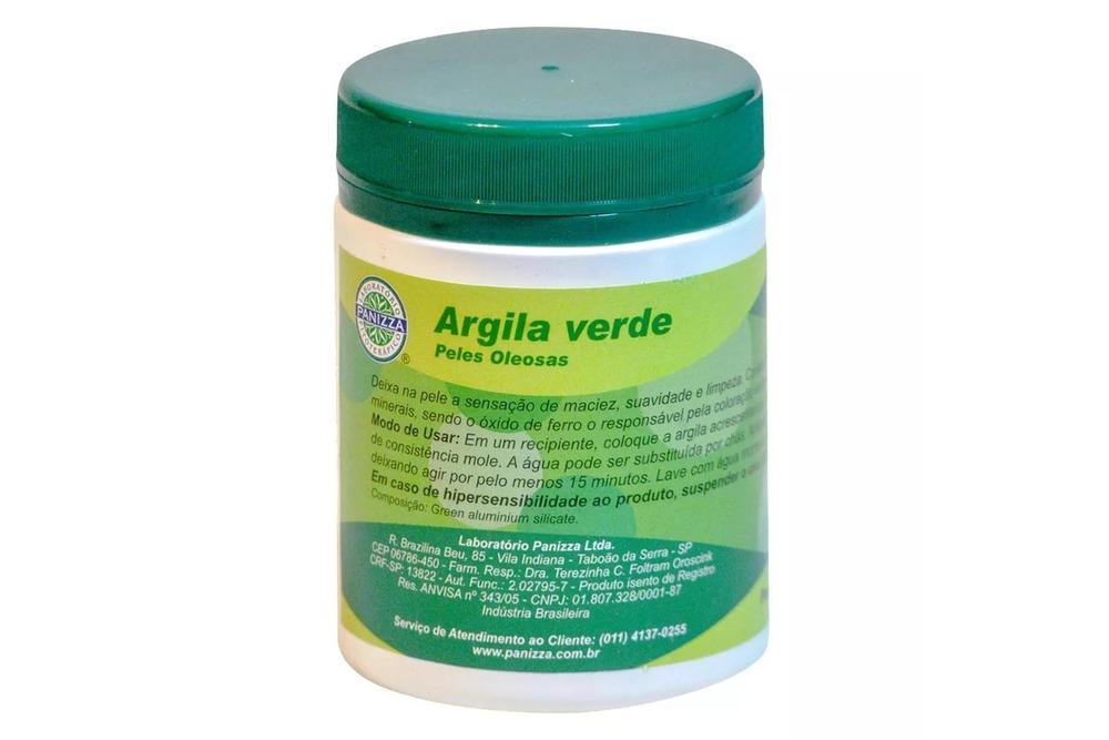 argila verde para pele oleosa