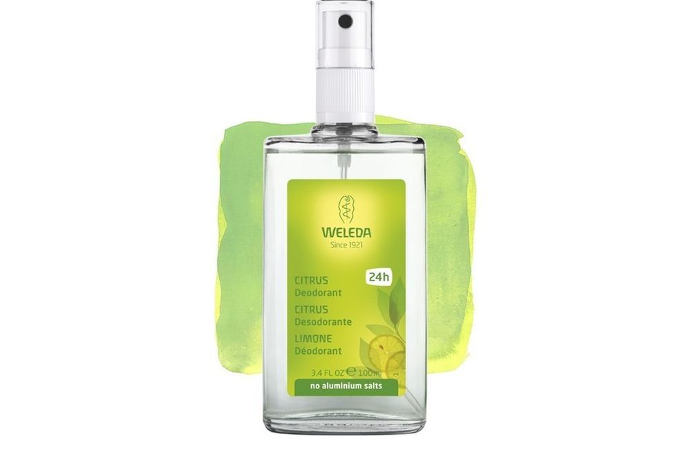 Desodorante Weleda, ótima opção  de cosméticos naturais