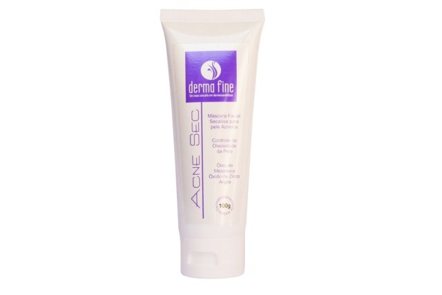 Creme secativo para acne da DERMA Fine