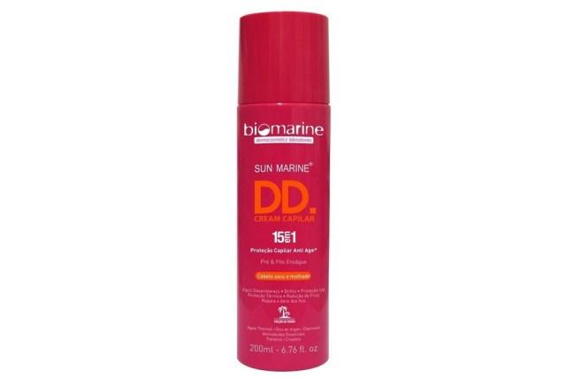 Biomarine DD Cream com protetor térmico