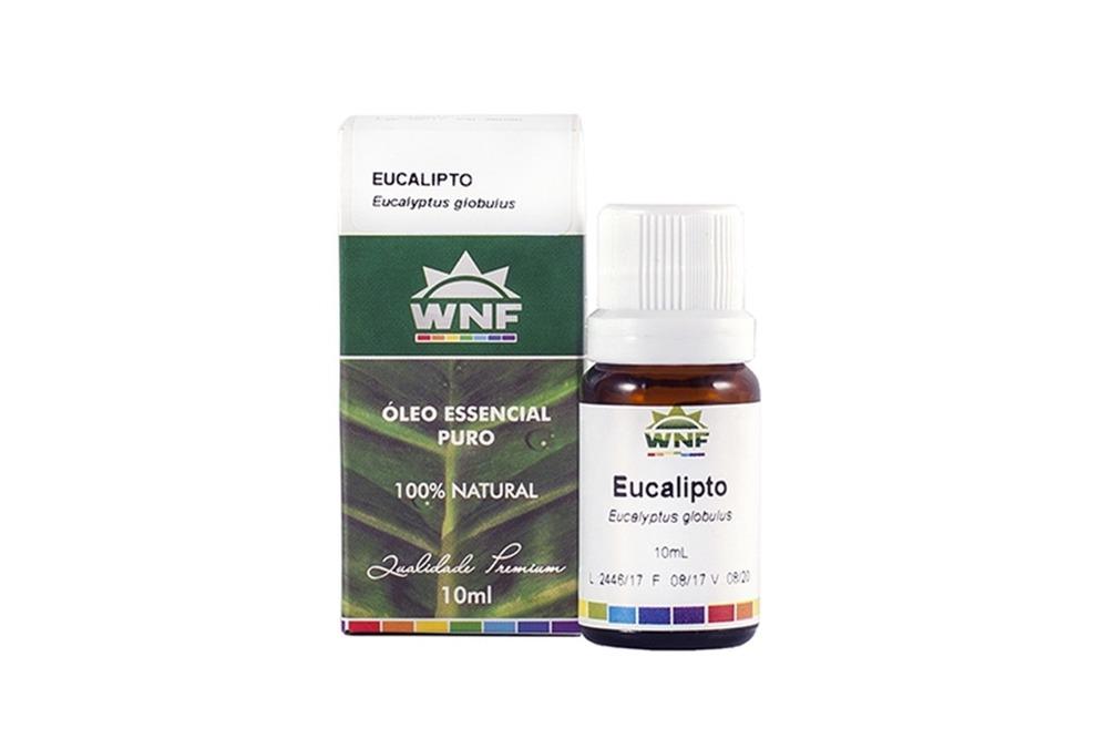 Óleo de eucalipto para umectação