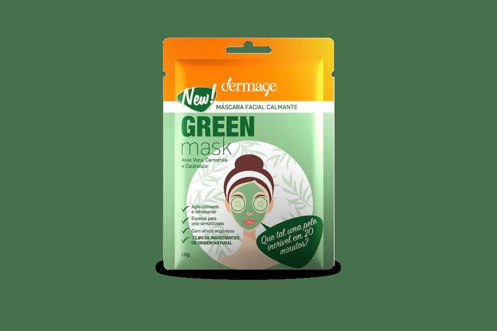 Máscara calmante Dermage para pele