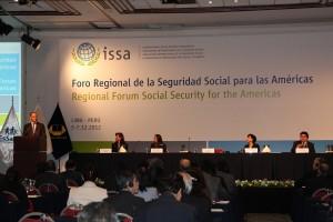 foro regional de seguridad social para las americas