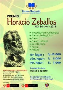 Premio Horacio Zeballos 2013