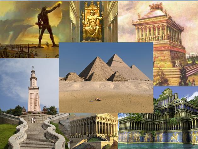 las siete maravillas del mundo antiguo blog de derrama