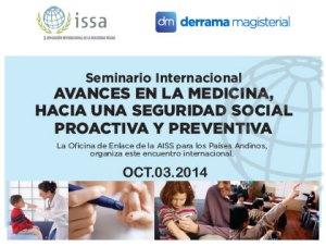 AISS organiza Seminario sobre Medicina y Seguridad Social