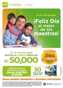 DM Créditos anuncia su Campaña por el Día del Padre