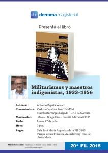 Lunes 27 de Julio - Colección Pensamiento Educativo Peruano-CPEP