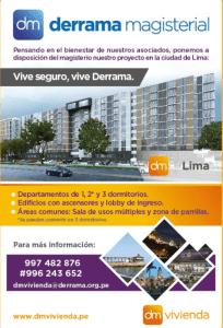 DM Vivienda anuncia la Preventa de la 2da. Etapa de sus departamentos en Lima