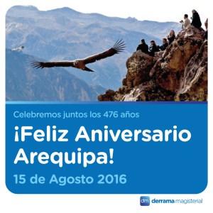 Arequipa y Huánuco: Dos joyas de nuestro país de aniversario