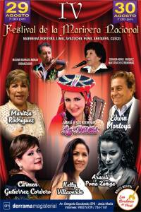 29 y 30 de agosto: La Marinera se viste de gala en nuestro Auditorio