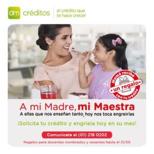 Campaña de Créditos por el Día de la Madre 2017