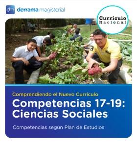 Competencias 17-19: Ciencias Sociales (Competencias según Plan de Estudios)