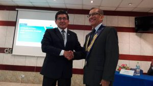 Medalla Encinas 2017 - Hugo Díaz Díaz
