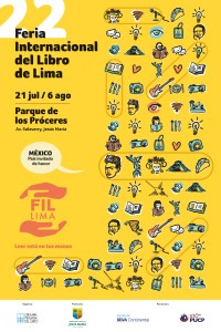 Se viene la 22 Feria Internacional del Libro de Lima: ¡Leer está en tus manos!
