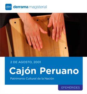 Instrumentos Musicales: Cajón Peruano