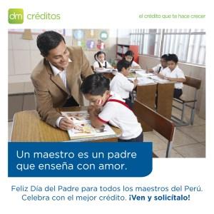 DM Créditos: Campaña de créditos por el Día del Padre