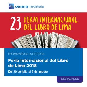 Feria Internacional del Libro de Lima FIL Lima 2018: Promoviendo la lectura