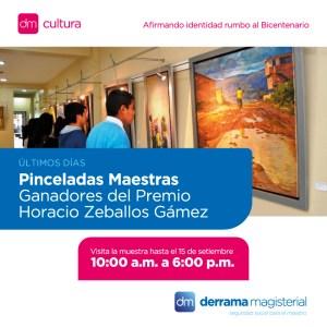 Pinceladas Maestras: Exposición de pinturas ganadoras llega a su fin