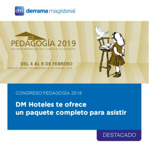 Pedagogía 2019: ¡Viaja y capacítate en Cuba con DM Hoteles!