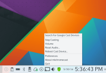 Linux a Chromecast