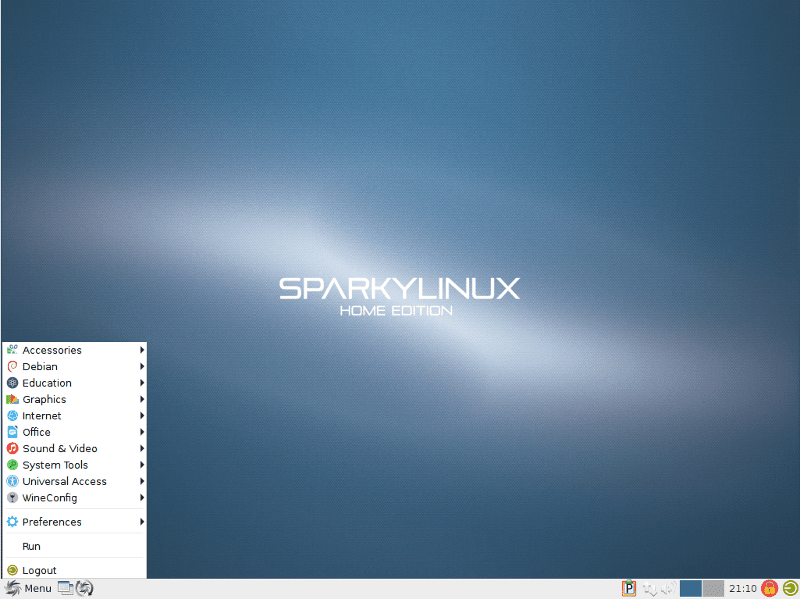 Disponible SparkyLinux 4.6, la distro ligera basada en Debian