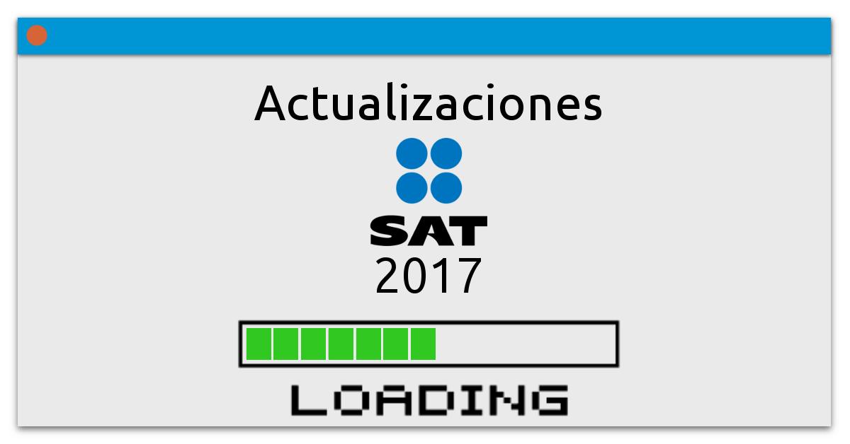 Actualizaciones SAT 2017