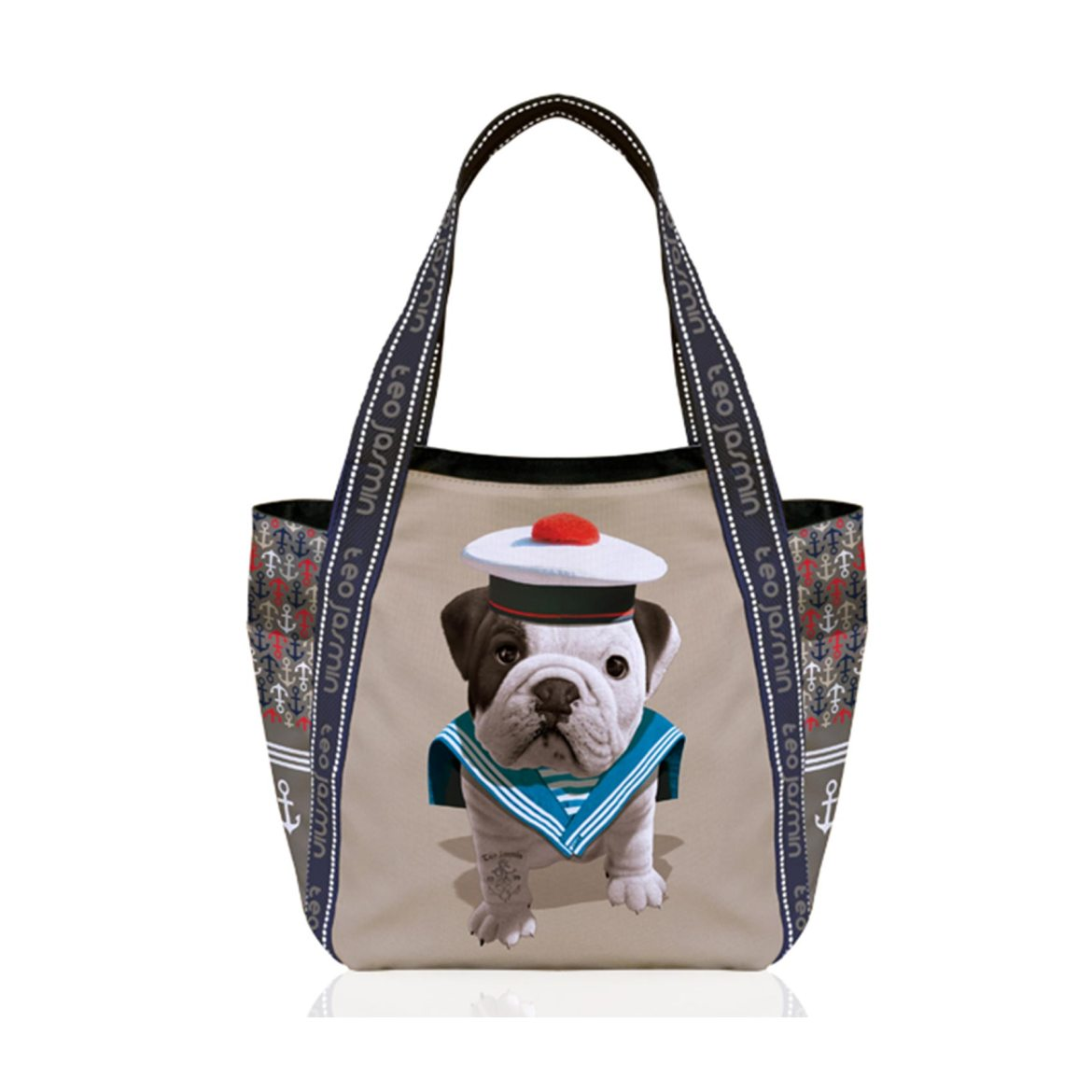 sac-a-main-chien-teo-jasmin-sailor-beige
