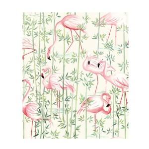 Tissu-flamingo-thevenon