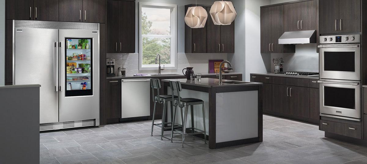 professional kitchen appliances bistro decorating ideas frigidaire series review flexible