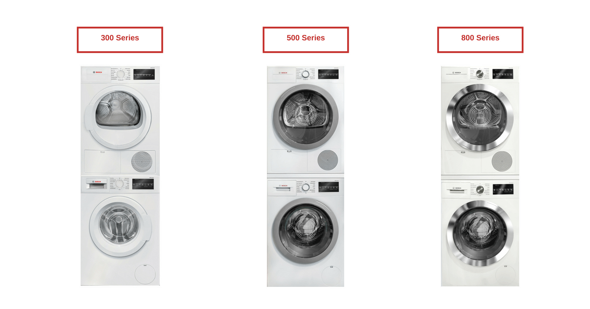 Bosch Washer and Dryer Review [300 vs. 500 vs. 800 Series]