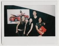 Polaroid Fuji jason, Luca Buzas, May and Mina