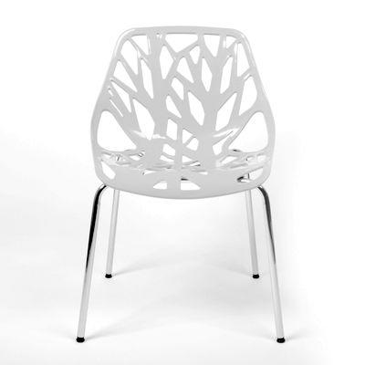 Witte designstoelen terug van weg geweest