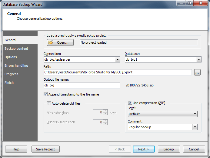 How To: Export/Import Large MySQL Database