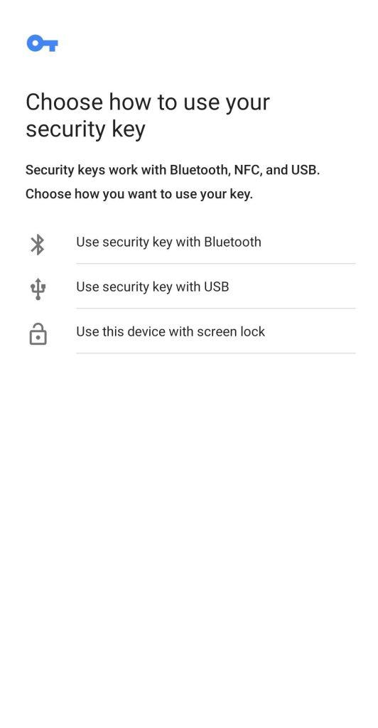 WooCommerce Biometric Login add biometric detail popup step 2