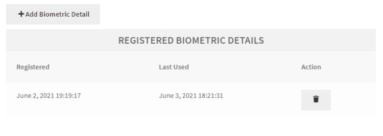 WooCommerce Biometric Login shortcode add authenticator