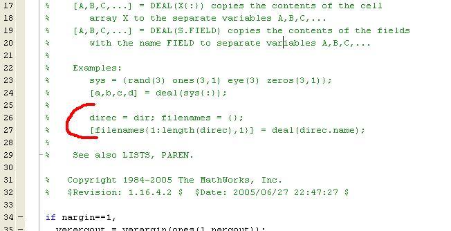 Commenter en bloc   MATLAB pour les geeks   Page 2