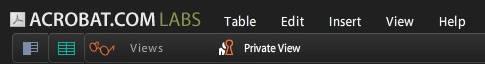 Tables Menüler